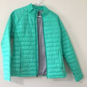 Sea Foam Green light weight puffy coat! 🌊💚